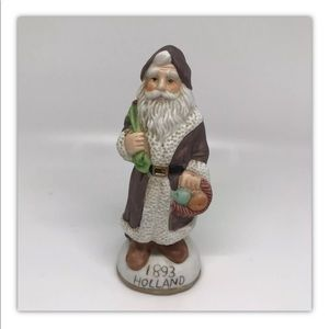 4/$10 Vintage International Santa Figurine Holland